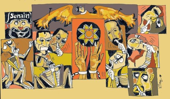 Ilustración Vilma Vargas. http://suplementoelpolvorin.blogspot.com/